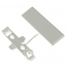 Накладка на стык пластикового кабельного канала