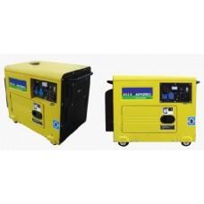 Дизель генератор с автоматическим переключателем сети напряжения.