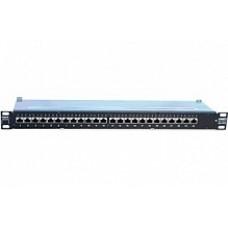 24 Портовая панель AMPTRAC, Кат. 6