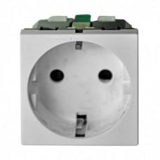 Розетка для монтажа в систему DLP 2-х модульная